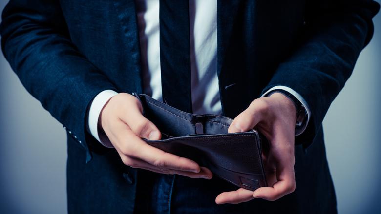 Geen schuldhulpverlening voor aanzienlijk deel zzp'ers in geldnood