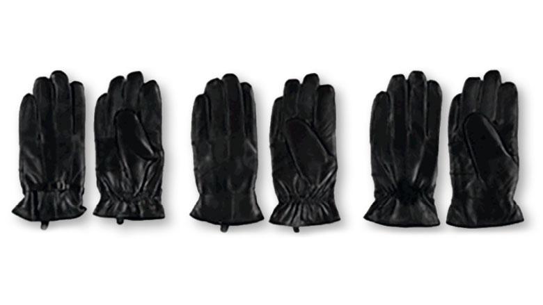 Veiligheidswaarschuwing voor giftige handschoenen Zeeman