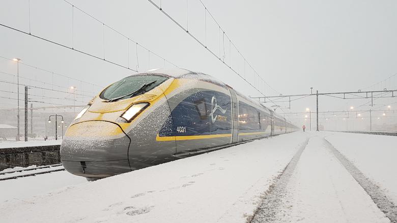 Internationale trein steeds populairder als alternatief voor vliegen