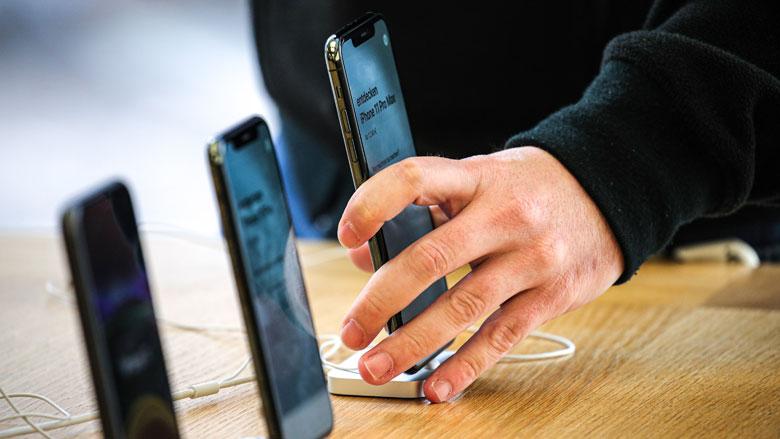 Melding bij vervangen Apple-scherm door ander merk
