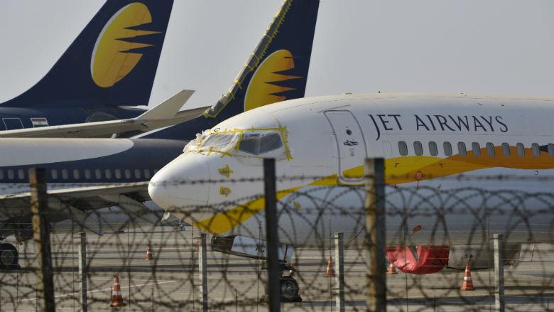 Jet Airways annuleert alle vluchten van en naar Schiphol