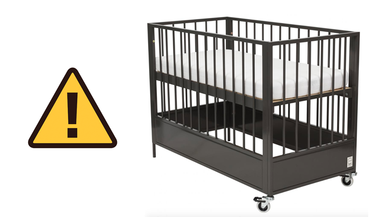 NVWA waarschuwt voor onveilig ledikant van fabrikant Coming Kids