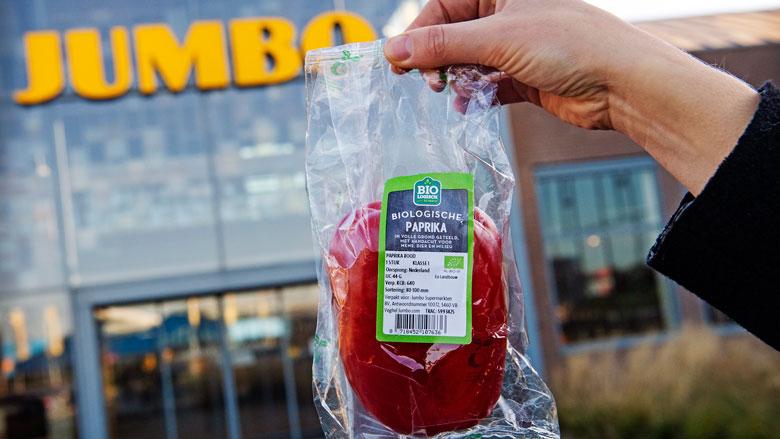 'Mispaksel van het Jaar' gaat naar biopaprika van Jumbo