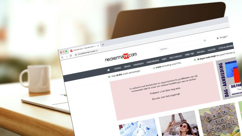Consumentenbond: webwinkel Neckermann komt beloftes niet na