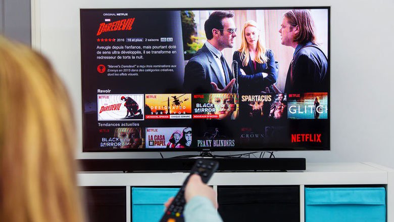'Meerderheid Nederlanders ziet Netflix als alternatief voor bioscoop'