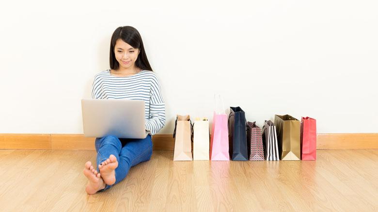 Nederland in top vijf van online shoppers in Europa