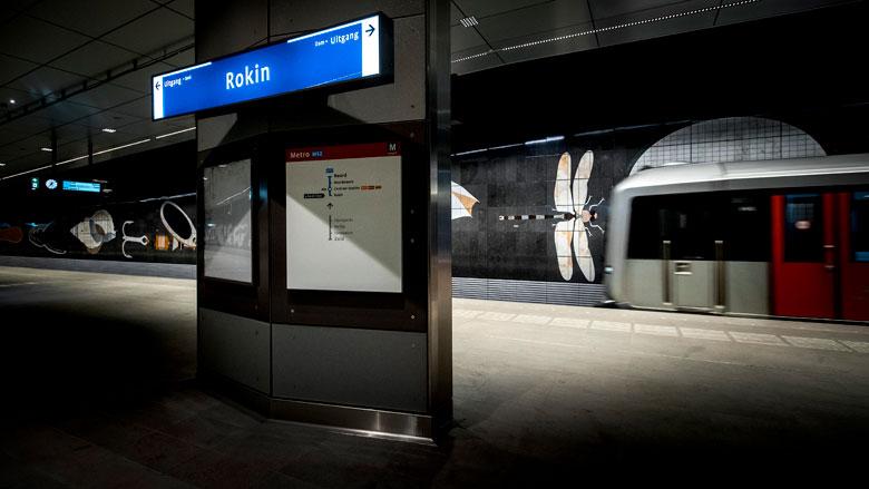 Onveilige tunnels in centrum Amsterdam