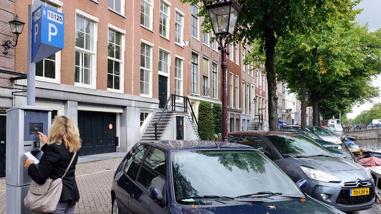Parkeren fors duurder in centrum Amsterdam