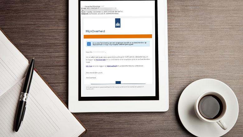 DigiD-inloggegevens van 361 mensen buitgemaakt met phishing