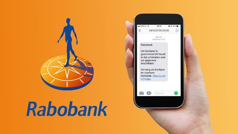 Valse sms van 'Rabobank' over geskimde bankpas