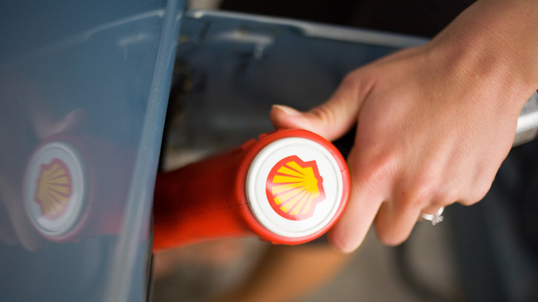 Brandstoftekort bij pompstations Shell