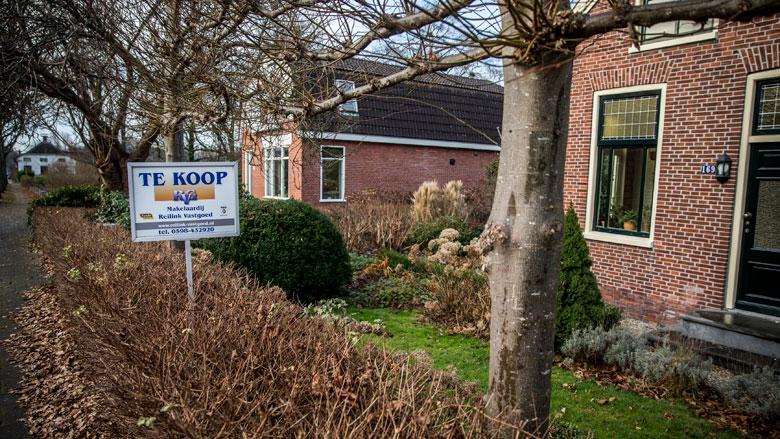Stijging van huizenprijzen neemt af
