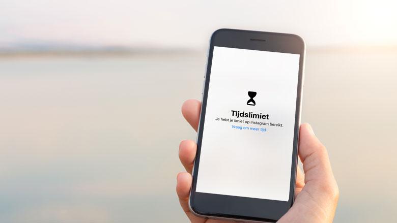 Updates in iOS 12: je telefoongebruik beperken
