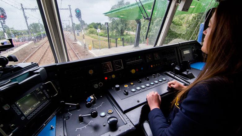 Geslaagde proef met automatische trein in Groningen