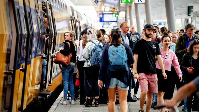 NS: Weer meer reizigers verwacht in september