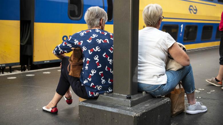 'Treinen dit jaar minder vertraging'