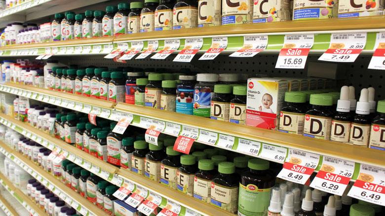 Gezondheidswinkels gebruiken verboden claims voor voedingssupplementen