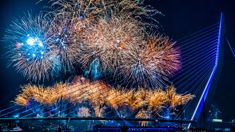 Vuurwerkverbod buiten speciale zones in Rotterdam