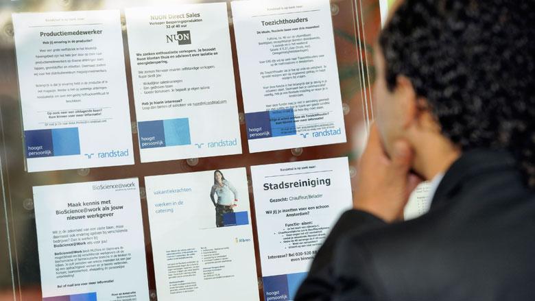 Aantal werklozen in Nederland is verder gedaald