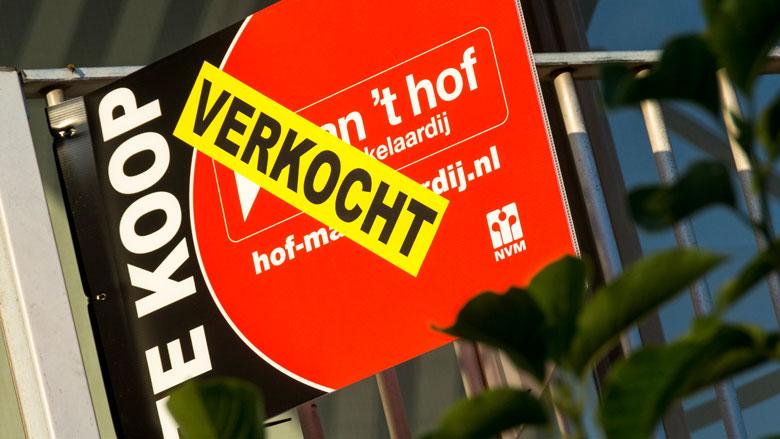 Doorsnee woningprijs meer dan 3 ton