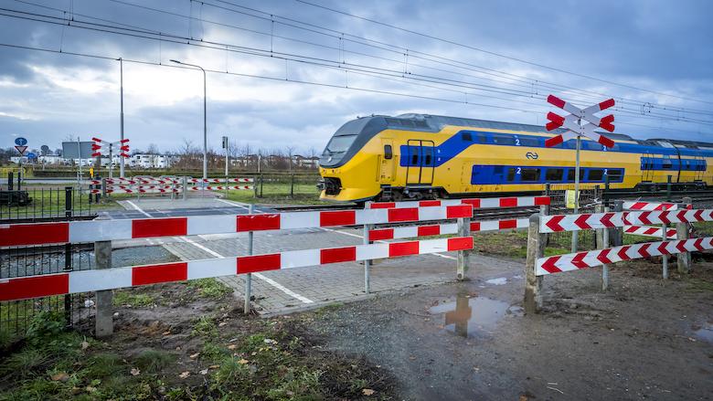 NS en ProRail nemen per direct maatregelen bij onbewaakte spoorwegovergangen