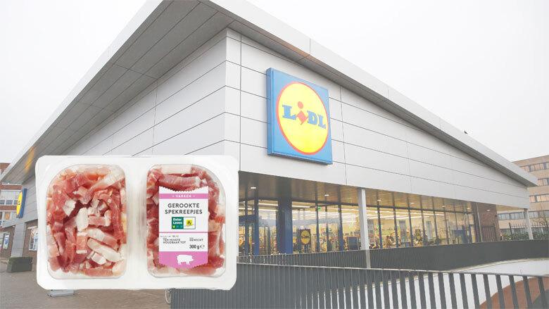 Salmonella aangetroffen in gerookte spekjes van Lidl