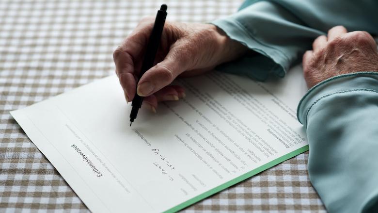 Je regelt makkelijk zelf een wilsverklaring - zonder notariskosten