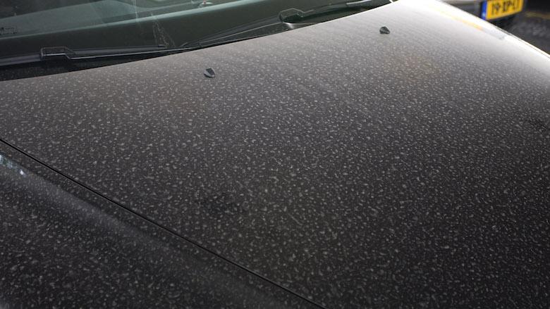 Saharastof: stel het wassen van je auto nog maar even uit