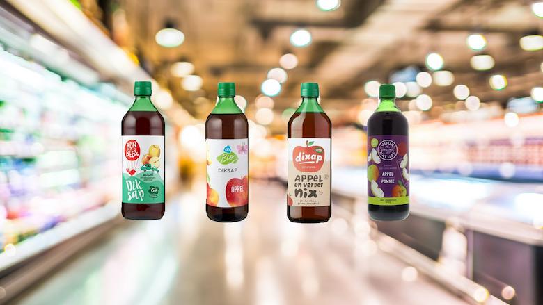 Verschillende merken diksap teruggeroepen: mogelijk glas in product