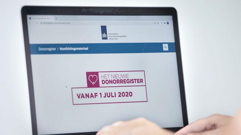 Donorkeuze registreren: een stappenplan